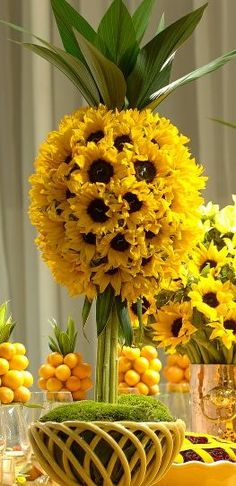 yellow reception wedding flowers, wedding decor, wedding flower centerpiece, wedding flower arrangement, add pic source on comment and we will update it. www.myfloweraffair.com