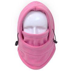 [AETRENDS] 14 Solid Colors Fleece Balaclava Hats for Men and Women Winter Mask Hat Bonnet Caps Z-3942