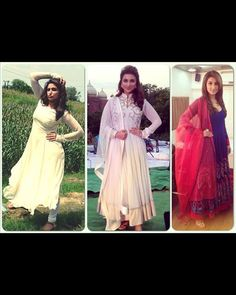 Pari even rocked in all her traditional outfits! From perfect colours to subtle make-up, the girl added an Indian touch to her promotional events too. Gorgeous!