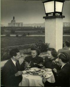 Nina leen.  berlin 1950.