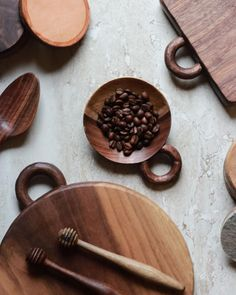 walnut & coffee: the West Heritage kitchen series: a collaboration with Josh Nava of Suburban Pallet. Each piece is handcrafted from walnut and currently made to order.   Learn more or shop this collection at westheritage.net.