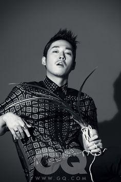 Jang Hyuk GQ Korea Magaizne February 2012