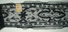 Antique Victorian 1900 French Black Beadwork On Net New York Label $55.00 - The Gatherings Antique Vintage