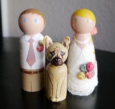 Wedding with Pet Peg Doll