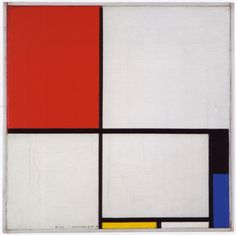 Piet Mondrian, Composition with Red, Black, Blue and Yellow, 1928 This piece was…