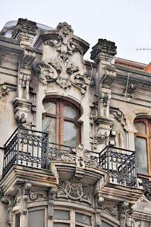 EDIFICIO C/ San Andrés, 100 A Coruña (España) Art Nouveau, Pisa, Big Ben, Aesthetics, Scrap, English, Building, Travel, Modernism