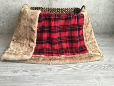 ShipsNow Minky Baby Blanket Mountain Flannel Buffalo Plaid Faux Fur Toddler Child Teen Adult Blanket by Moonsheets on Etsy https://www.etsy.com/listing/475717603/shipsnow-minky-baby-blanket-mountain