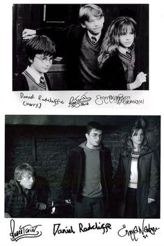 Rupert's signature is definitely the most interesting