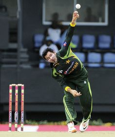 West Indies v Pakistan 5th ODI: Junaid Khan was on sung for Pakistan today, stifling the Windies batsmen. He delivered 10-1-48-3.