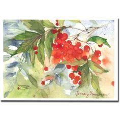 Pihlaja, postikortti > artist: Minna Immonen
