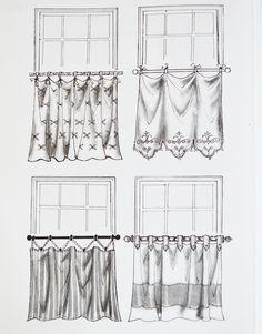 Decore com Gigi: Cortinas - Ideias para vestir suas janelas!