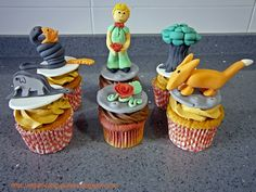 Cupcakes Principito / The Little Prince Cupcakes