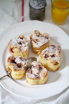 Mirabellen-Himbeere Kuchen mit Mandeln