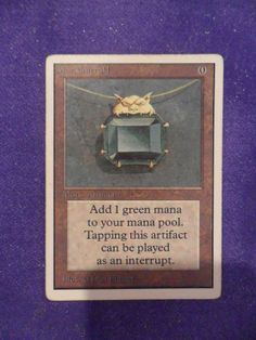 Mox Emerald card price from Limited Edition Beta (LEB) for Magic: the Gathering (MTG) and Magic Online (MTGO). Pokemon Charizard, Trieste, Emerald Cost, Cool Deck, Magic The Gathering Cards, Magic Cards, True Art, Wizards Of The Coast, Summoning