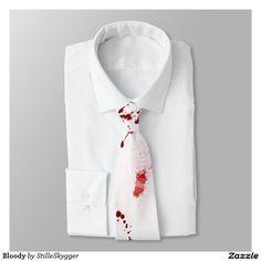 Bloody Tie  #tie #giftforhim #forhim #design #necktie #giftidea #birthdaygift #giftforfriends #giftformen #giftsomethingspecial  #gifts  #gift