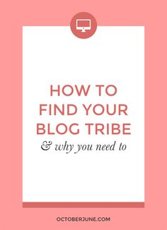How to Find Your Blo