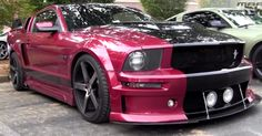 This is a super hot Ford Mustang with a Cervini Eleanor body kit - striking American muscle car that not only looks awesome, but sounds badass. Check out the vi