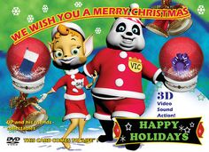Oh what a great Chrismas in 3D. DP and his friends have the best Christmas presents - EVER! www.dvdportraits.com - the best christmas card ever for kids!   Get cash back on  every one of you  Xmas  purchasing. This is not some  tiny rewards program.  Obtain {real| genuine|