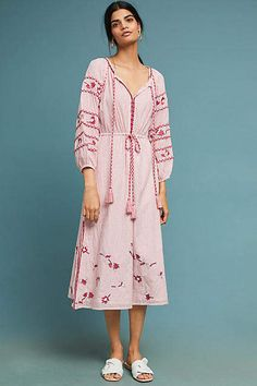 0204b91f9bdf MISA Tasya Embroidered Dress #ad #AnthroFave #AnthroRegistry Anthropologie # Anthropologie #musthave #