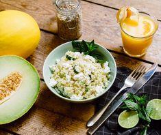 Edamame, Falafel, Feta, Zucchini, Catering, Couscous, Grains, Rice, Goat Cheese Quiche