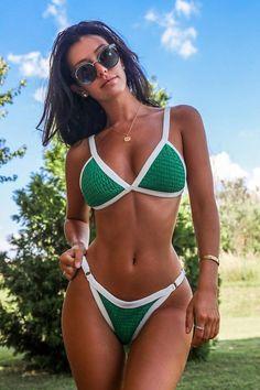 Sexy Bikini, Bikini Modells, Bikini Girls, Mode Du Bikini, Mädchen In Bikinis, Femmes Les Plus Sexy, Two Piece Swimwear, Bikini Outfits, Mini Bikini