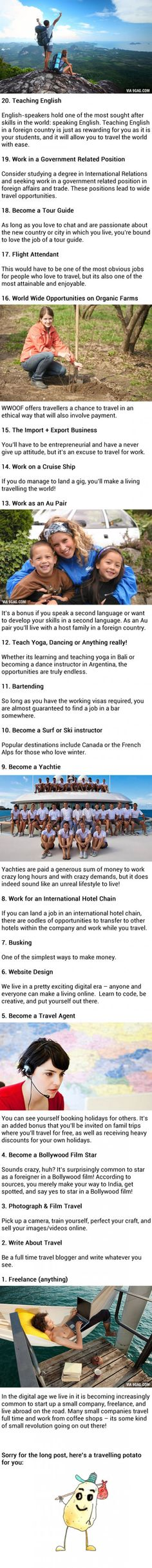 20 Great Jobs For People Who Love To Travel