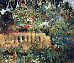Joaquim Mir i Trinxet (catalan 1873-1940) - Balustrade #art #pintura #barcelona