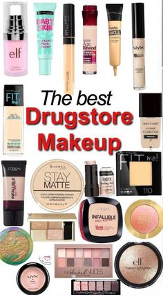 ABC Make Up Foundation Eyebrow Eyeliner Blush Cosmetic Concealer Brushes (Rose Gold) - Cute Makeup Guide Makeup 101, Makeup Guide, Cute Makeup, Makeup Tools, Makeup Brushes, Beauty Makeup, Beauty Dupes, Elf Makeup, Candy Makeup