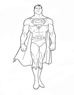 superman coloring picture coloring for kid pinterest kid coloring and pictures - Superman Coloring Pages Kids