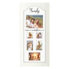 Malden+''Family''+Arched+Panel+Collage+Frame
