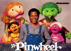 nickelodeon pinwheel... this was my ABSOLUTE favorite tv show as a kid!!!