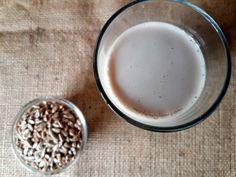 Sunflower Seed Vanilla Milk - nut and dairy free