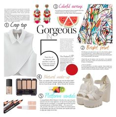 """""""Corgeous 5"""" by buttercup-on-fire ❤ liked on Polyvore featuring WithChic, Jeremy Scott, Whiteley, Ranjana Khan, NARS Cosmetics and Rimmel"""