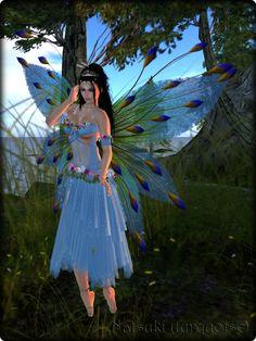 Faeline Fairy Wings - Natsuki (turquoise)