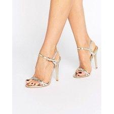Public Desire Annabelle Twist Heeled Sandals