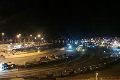 Bandırma çelebi limanı ve tren garı.