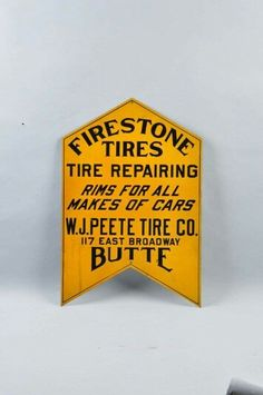 Firestone Tires Sign