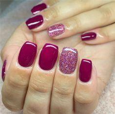 Stylish Nails, Trendy Nails, Colorful Nail Designs, Nail Art Designs, Nails Design, Colorful Nails, Colorful Makeup, Sns Nails, Acrylic Nails