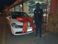 Big Smiles, Big Bows & Happy Clients @ MotorMan Nigel!   Apply Today & Join Our Family.  Sales/ Whatsapp: 063 005 9915 Web: www.motorman.co.za E and OE  #Nissan #Tiida #Sedan #DelightedClients #Deliveries #MotorMan #Nigel R Man, Big Bows, September, Join, How To Apply, Vehicles, Happy, Car, Happiness