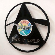 Pink Floyd Wall Art -Vinyl LP Record Clock or Framed -Great Rock'n'Roll Gift