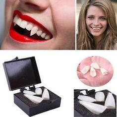 Fancy Dress Vampire Teeth Denture Fangs Bites Costume Party Halloween Props