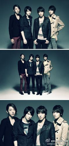 CN Blue. Those two in the middle are so adorable....gah!