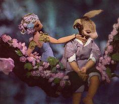 Jiri Trnka's Midsummer Night's Dream (via DUSTY OLD BOOKS)
