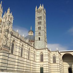 Sienna, Italy, where they got too ambitious and never actually finished the cathedral! Hilarious!