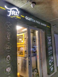 Free Bakery Budapest Budapest, Stück Pizza, Gluten Free Bakery, Neon Signs, Thai Soup, Viajes