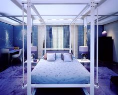 Stunning Bedroom by David Collins - Madonna for House & Garden. Richard Waite