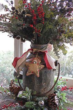Milchkanne *Weihnachten*