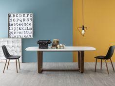 Lacquered living room table MEDLEY by Bonaldo | design Alessandro Busana