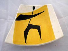 Ceramic ashtray - Louis Giraud - Biot