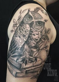 Off the Map Tattoo : nature animal owl : Tattoos : Page 1